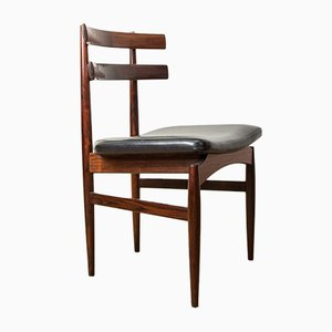 Rosewood Model 30 Chairs by Poul Hundevad for Hundevad & Co, Set of 4