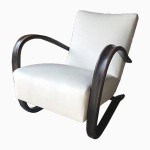 Model H 269 Lounge Chair by Jindrich Halabala, 1930s