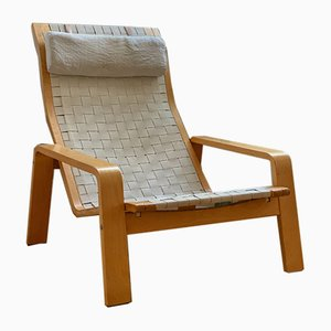 Vintage Vilan Lounge Chair with Ottoman Set from Ikea