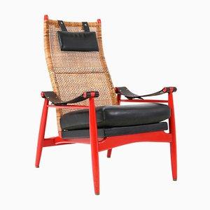 Mid-Century Modern Lounge Chair by P.J. Muntendam for Gebroeders Jonker, 1950s