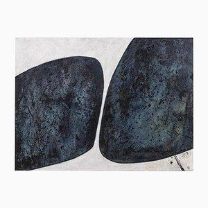 Myriam Caumes, Azteka, Contemporary Work, Öl auf Leinwand