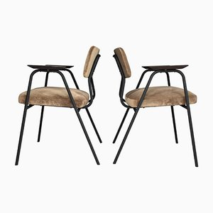 French Armchairs by Pierre Guariche for Meurop, 1960s, Set of 2
