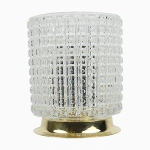 Mid-Century Tischlampe aus Kristallglas von Kamenicky Senov, 1970er