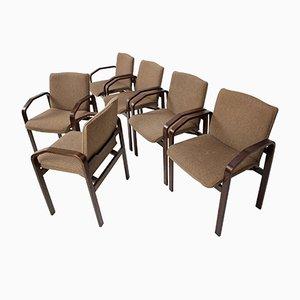 Lounge Chairs from Národní Podnik Holešov, 1993, Set of 6