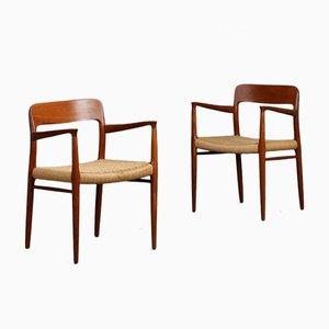 Dänischer Modell No 56 Stuhl von Niels Møller