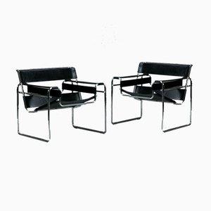 Sedia Wassily B3 Bauhaus di Marcel Breuer per Gavina