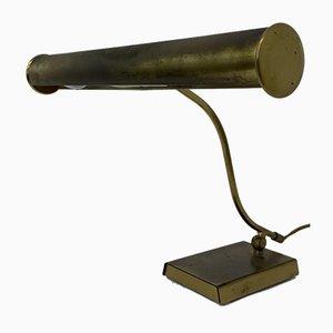 Brass Piano Lamp from Anvia Almelo, 1970s