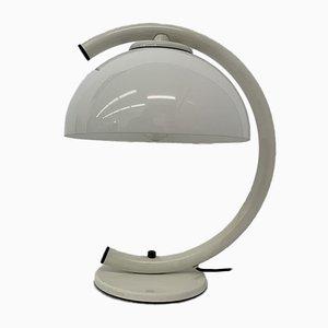 Lámpara de mesa hongo era espacial, años 70