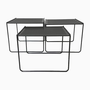 Nesting Tables, 1980s, Set of 3