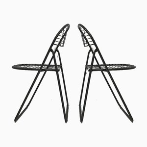 Gray Wire Chair by Niels Gammelgaard for IKEA, 1970s