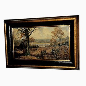 Peinture, O. Berndt, 20ème Siècle, Huile sur Bois
