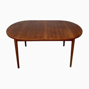 Mid-Century Large Swedish Teak Dining Table by Nils Jonsson for Troeds