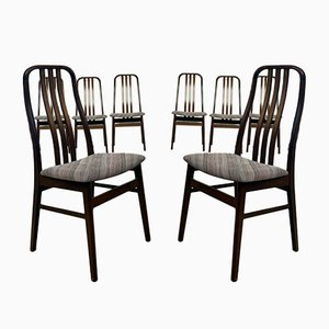 Late Mid-Century Danish Dining Chairs from Farstrup, Set of 8