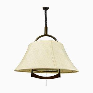 Height Adjustable Pendant Lamp by Temde, 1970s