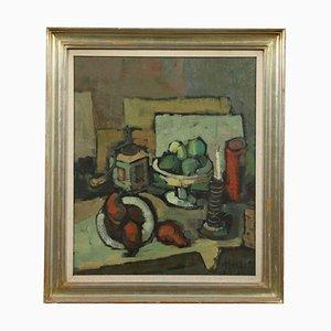 Giampietro Maggi, Oil on Canvas, Milan 20th Century