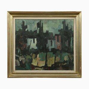 Giampietro Maggi, óleo sobre lienzo, siglo XX