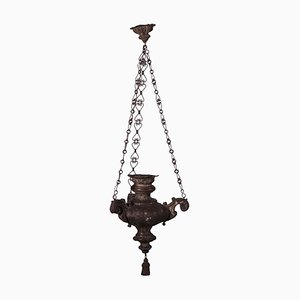 Metall Öllampe
