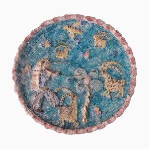 Piatto in ceramica di Vietri Procida