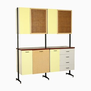 Formica Metal Cupboard, Italy, 1960s