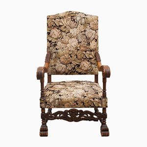 Antiker Sessel mit hoher Rückenlehne, Frankreich