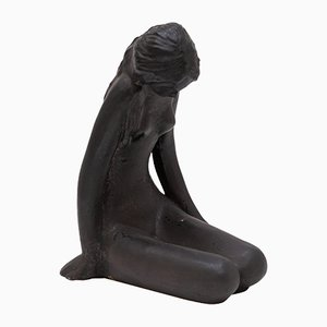 Sculpture Ceramic by Elie Van Damme for Amphora, 1960s