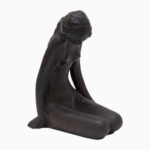 Scultura in ceramica di Elie Van Damme per Amphora, anni '60