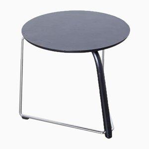 Tavolino rotondo nero di Thonet