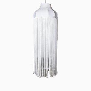 Großer Lampenschirm mit langen Quasten