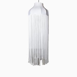 Large Lampshade with Long Tassels