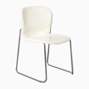 SM400K White Swing Chair von Gerd Lange für Drabert