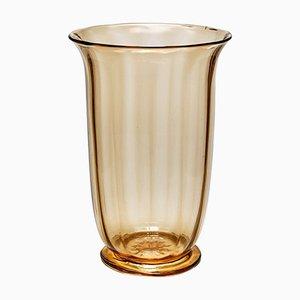 Large Blown Vase by Vittorio Zeccin for MVM Cappellin, 1925