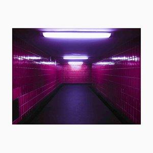 Sergio Picciaredda, Pink Wall, Original Colored Print, 2010s