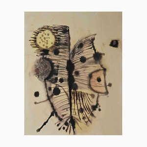 Vedan, the Butterfly, Original Watercolor, 1959
