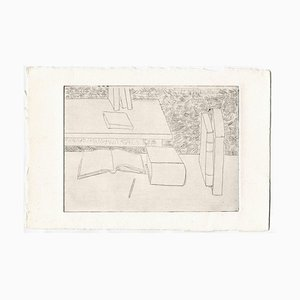 Unknown, Books, Original Etching and Drypoint, Mid-20th Century