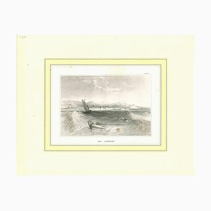 Unknown, Ancient View of Rio Janeiro, Original Lithograph, Early 19th Century