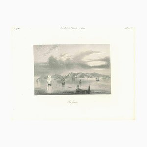 Unknown, Ancient View of Havannah, Original Lithograph, Early 19th Century