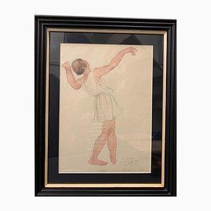 Odilon Roche, Dancer Dance, 1943, Isadora Duncan, 1943