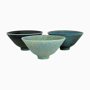 Mid-Century Bowls by Carl Harry Stålhane for Rörstrand, Set of 3