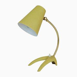 Lámpara de mesa de latón y metal de Ewå, Sweden, años 50