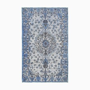 Blue Over Dyed Rug