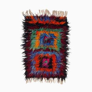 Mehrfarbiger Vintage Tulu Teppich