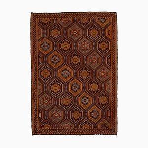 Vintage Turkish Orange Kilim Rug