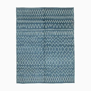 Moroccan Blue Rug