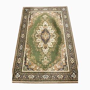 Vintage Middle Eastern Green Carpet