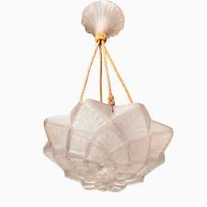 Stockholm Ceiling Lamp by René Lalique