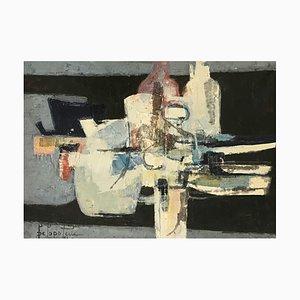 Paul Delapoterie, Composizione, 1961