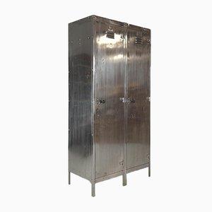Vintage Steel Double Locker