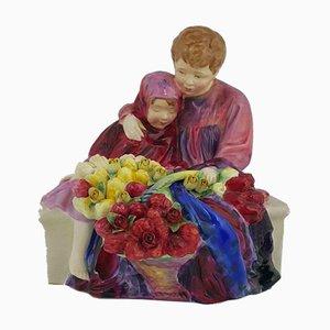 Flower Seller's Children HN1342 5170 RD Figurine from Royal Doulton
