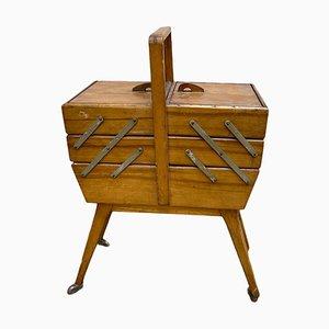 Small Mid-Century Modern Work Cabinet