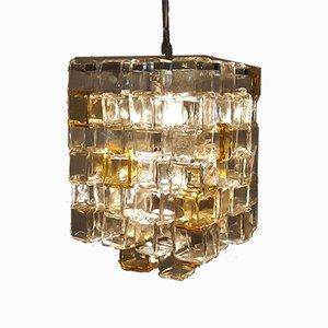 Murano Glass Chandelier by Flavio Poli for Poliarte, Italy